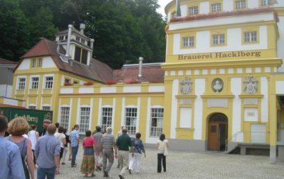 GeoComPass EVENT 2010: Brauerei Hacklberg, Passau