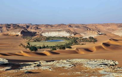 Paradies in der Wüste – Seenlandschaften in entlegenen Wüstenregionen der Sahara