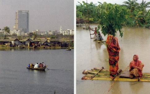 Naturkatastrophen in Bangladesch