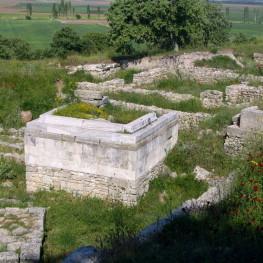 Altar in Troy, Türkei
