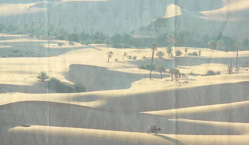 Abenteuer pur: Brennend heißer Wüstensand