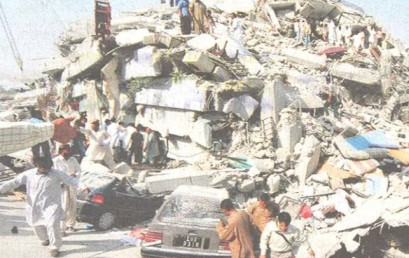 Bomben und Beben