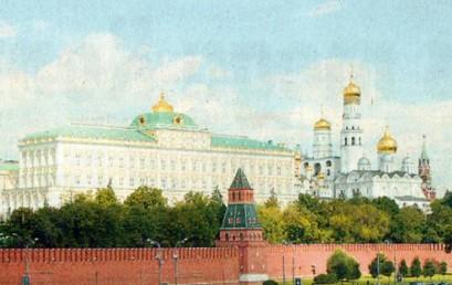 Das Moskauer Stadtbild im Wandel