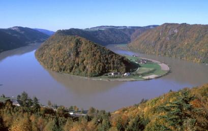 Die Schlögener Schlinge und das Passauer Donau-Engtal: Arabesken im Webmuster des Bayerisch-Böhmischen Kristallins