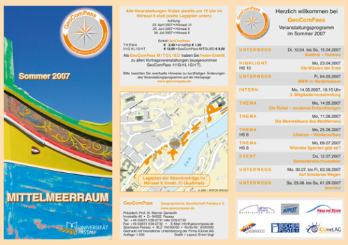 GeoComPass-Programm-Sommer-2007