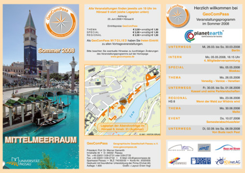 GeoComPass-Programm-Sommer-2008