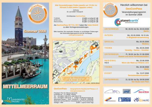 GeoComPass-Programm-Sommer-2008