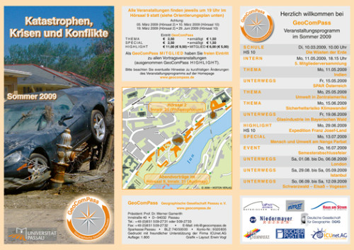 GeoComPass-Programm-Sommer-2009