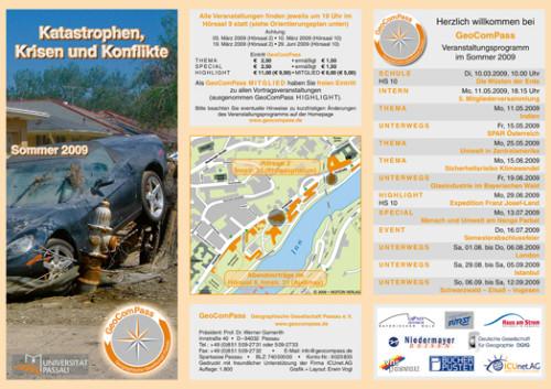 GeoComPass-Programm-Sommer-2009