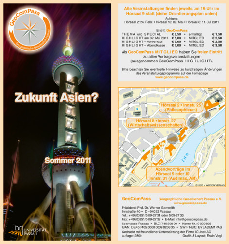 GeoComPass-Programm-Sommer-2011