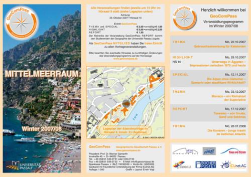 GeoComPass-Programm-Winter-2007-08