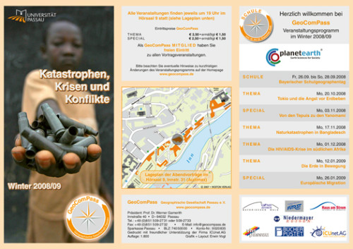 GeoComPass-Programm-Winter-2008-09