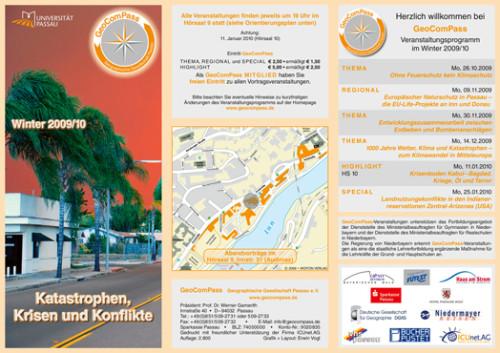 GeoComPass-Programm-Winter-2009-10