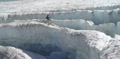 Alpen ohne Gletscher