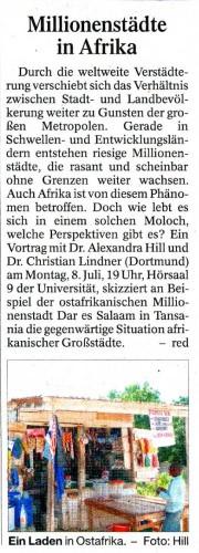 millionenstädte in afrika