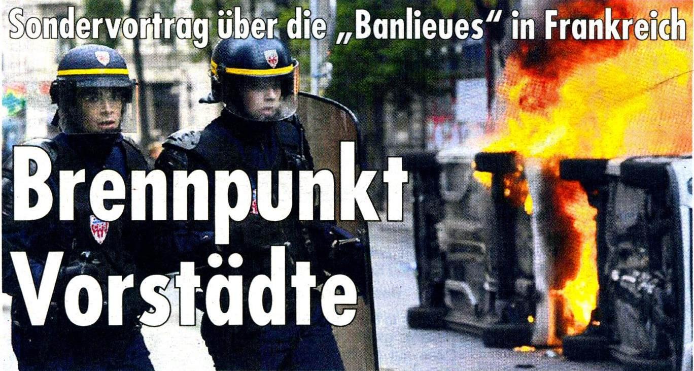 """Brennpunkt Vorstädte: """"Banlieues"""" in Frankreich"""