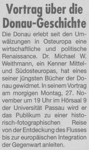 Donau-geschichte