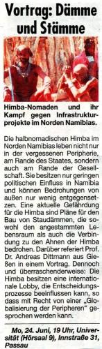 Himba-Nomaden und ihr Kampf gegen Infrastrukturprojekte2