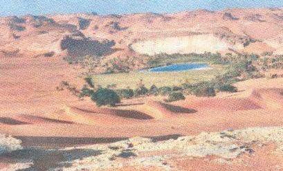 Seenlandschaften in Entlegegenen Regionen der Welt