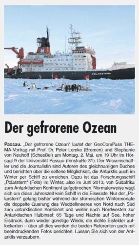 PaWo 27.4 - Der gefrorene Ozean