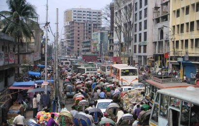 Dhaka, die Hauptstadt Bangladeschs