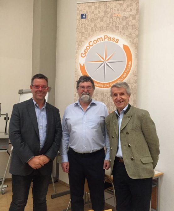 Alpenexperte Werner Bätzing zu Gast bei GeoComPass