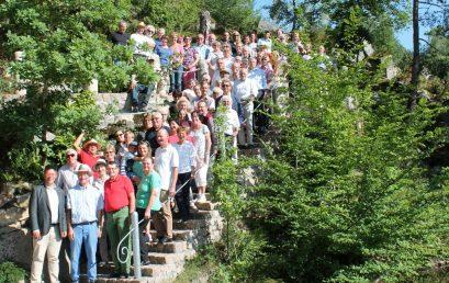 GeoComPass EVENT 2017: Granitsteinbruch Thiele,Fürstenstein
