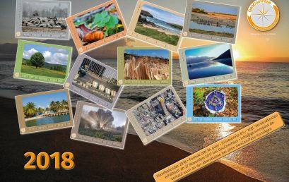 Ein GeoComPass KALENDER für 2018