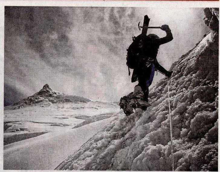 Ski extrem: Abfahrt vom 8000er-Gipfel