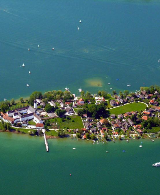 Die Inselwelt im Chiemsee – heute Bayern, einst Erzbistum Salzburg